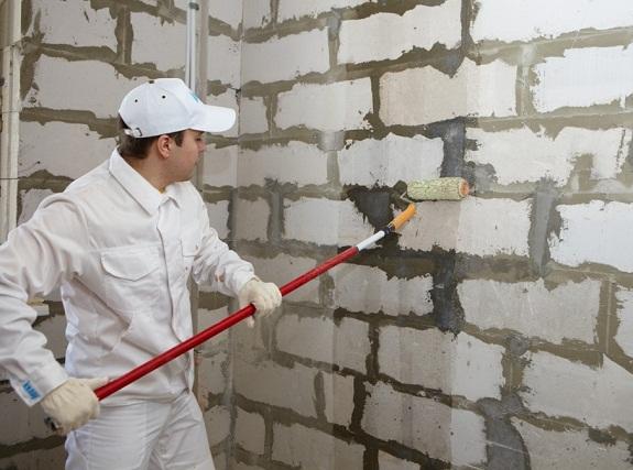 Подготовка стены для оштукатуривания