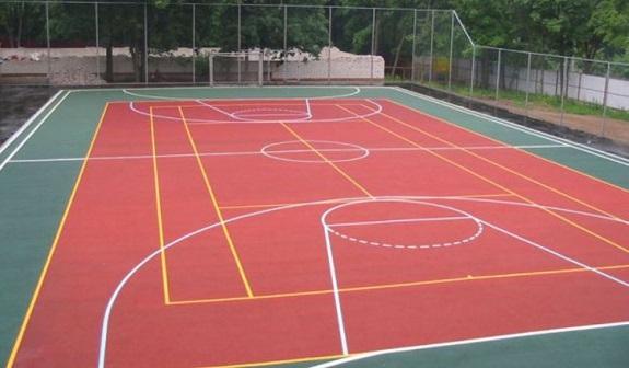 Покрытие спортивных площадок резиновой крошкой
