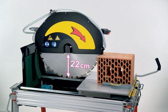 Принцип работы станка для резки кирпича