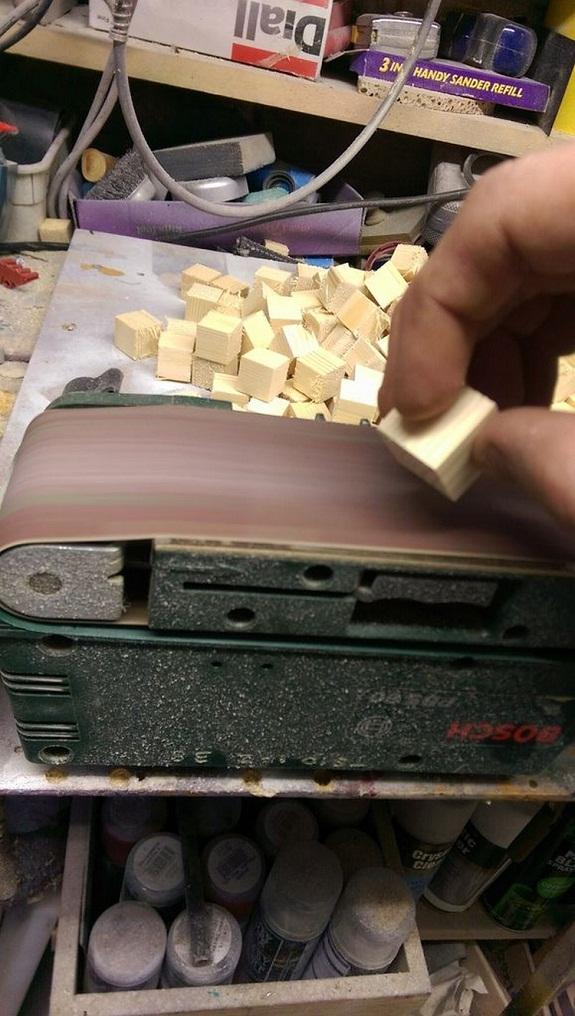Шлифуем кубики 2