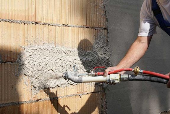 Штукатурка стен цементно-песочноыч составом