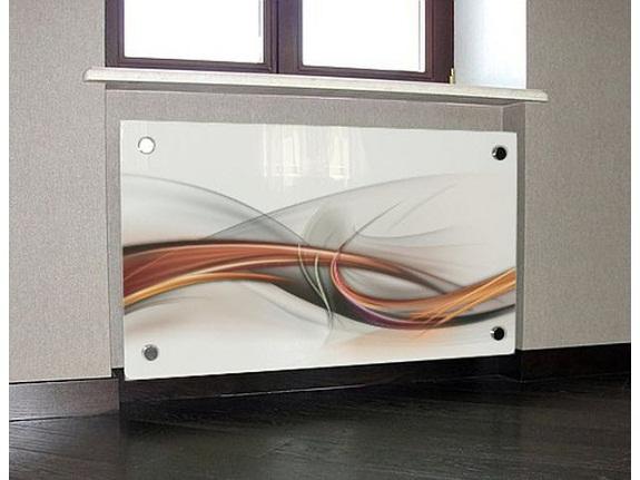 Стеклянный экран отопления