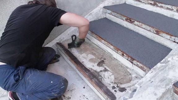 Технология штамповки бетона