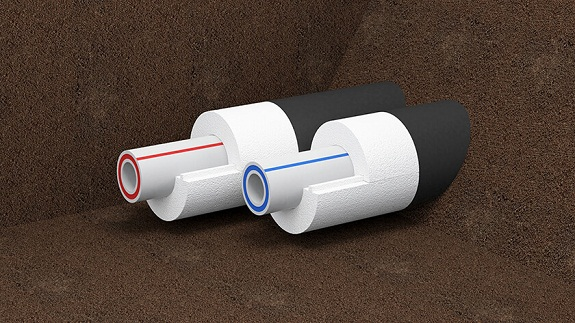 Использование скорлупы для утепления водопровода