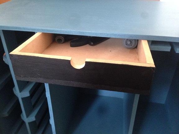 Изготовление выдвижного ящика 2