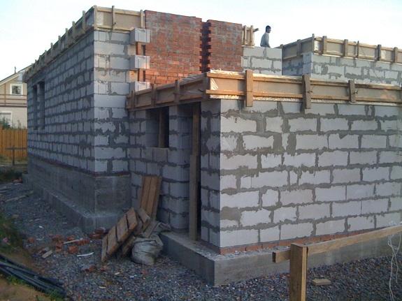 Строительство дома из фибропенобетона