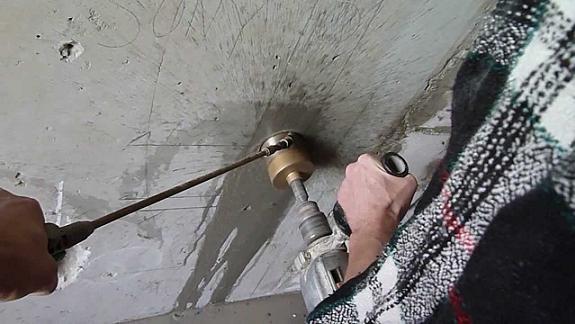 Сверление бетона корнкой