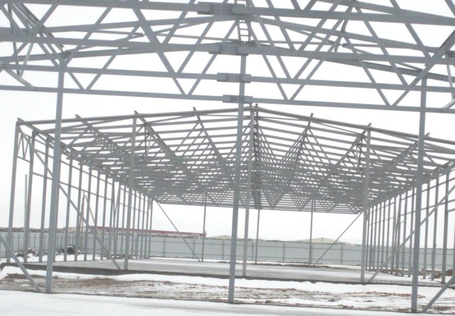 Возведение складского здания